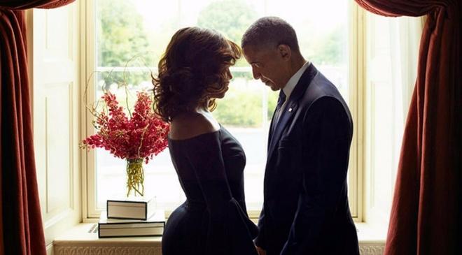 Ra mat hai cuon sach anh cua cuu Tong thong Obama va phu nhan Michelle hinh anh