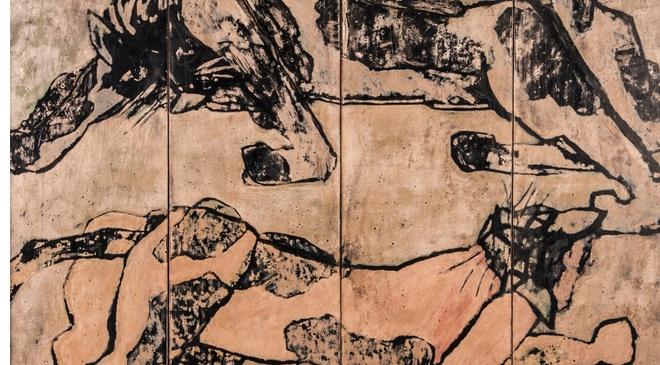 Dat 2,2 ty dong, tranh Nguyen Sang lap ky luc dau gia hinh anh