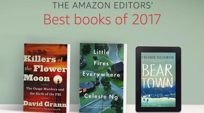 Amazon cong bo top 100 cuon sach hay nhat nam 2017 hinh anh