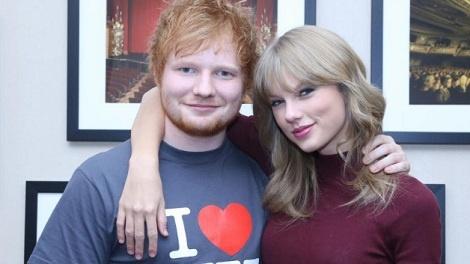 Ed Sheeran se giup Taylor Swift vuc lai danh tieng cua 'Reputation'? hinh anh