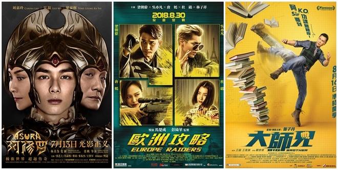 Mua phim he TQ: Bom tan cua Chan Tu Dan, Luong Trieu Vy hoa bom xit hinh anh