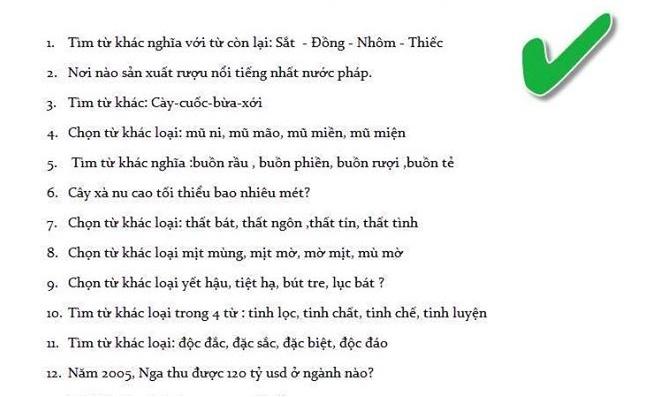 DH Quoc gia Ha Noi khong ra de thi 'Thach Sanh que o dau' hinh anh