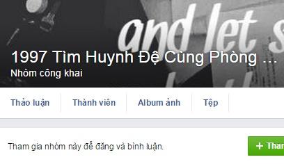 Thi sinh len Facebook tim ban cung phong thi hinh anh