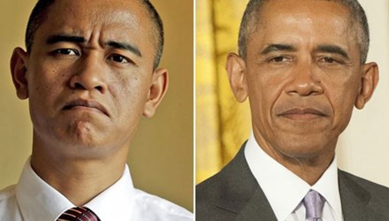 Ban sao Obama kiem bon tien nho tham gia su kien hinh anh