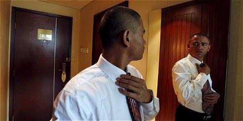Ban sao Obama kiem bon tien nho tham gia su kien hinh anh 6