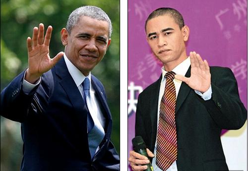 Ban sao Obama kiem bon tien nho tham gia su kien hinh anh 2