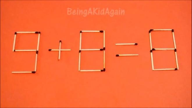 Dap an bai toan di chuyen que diem, bien sai thanh dung hinh anh 15 9 + 8 = 8 thành 0 + 8 = 8.