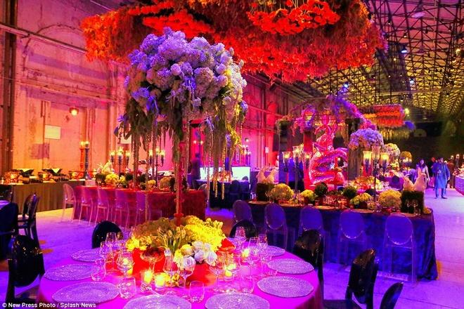 Dam cuoi xa hoa, tieu ton 14 trieu USD cua thieu gia An Do hinh anh 3 Tiệc cưới được tổ chức tại những khách sạn sang trọng nhất và kéo dài trong 3 ngày tại thành phố Florence, Italy.
