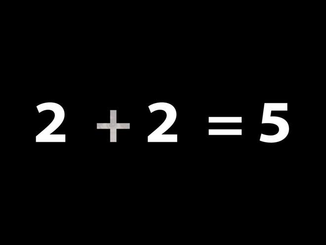 Bai toan chung minh 2 + 2 = 5 hinh anh