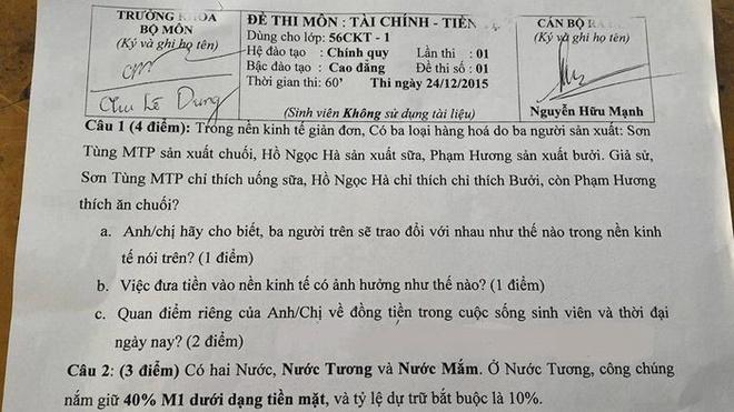 Son Tung, Pham Huong san xuat chuoi, buoi vao de thi hinh anh