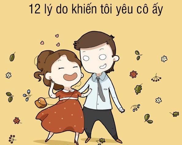 Tranh vui: 12 ly do khien toi yeu co ay hinh anh