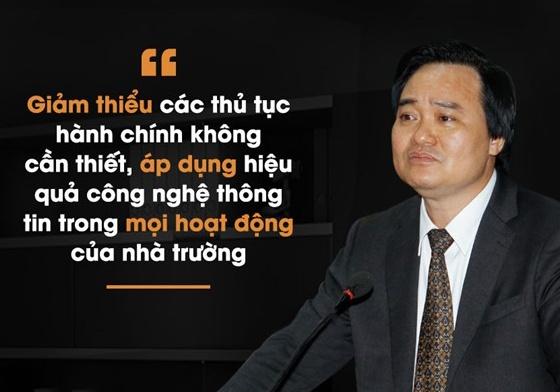 Bo truong Phung Xuan Nha va ky vong doi moi giao duc hinh anh