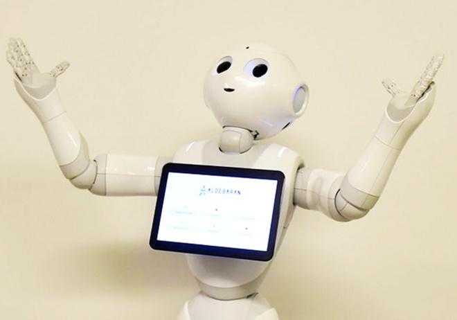 Robot di hoc dau tien tren the gioi hinh anh 1