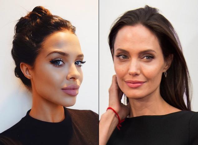 9X bat ngo noi tieng nho giong het Angelina Jolie hinh anh 1