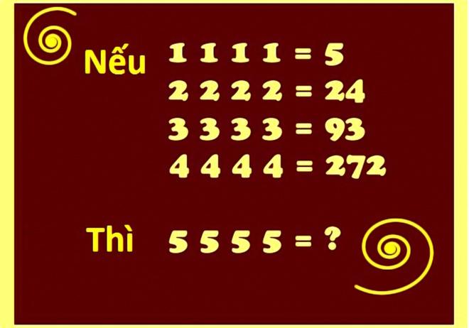 Bai toan hoc bua: 5 5 5 5 = ? hinh anh 1