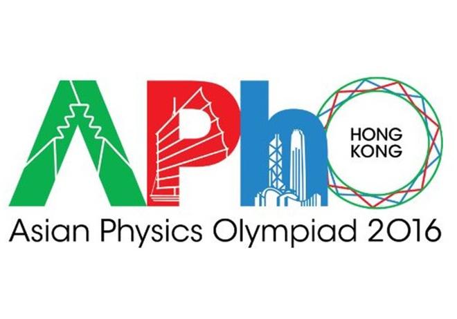 8 hoc sinh Viet Nam du thi Olympic Vat ly chau A doat giai hinh anh