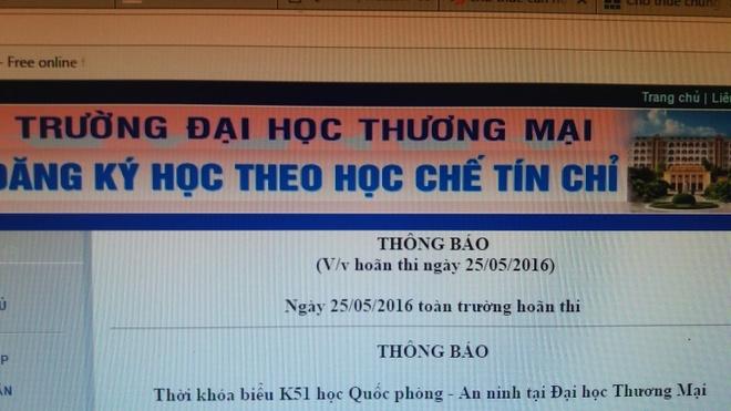 Dai hoc Thuong Mai hoan thi vi ngap hinh anh 2