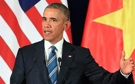Phat bieu cua ong Obama o Viet Nam vao bai thi lop 10 hinh anh