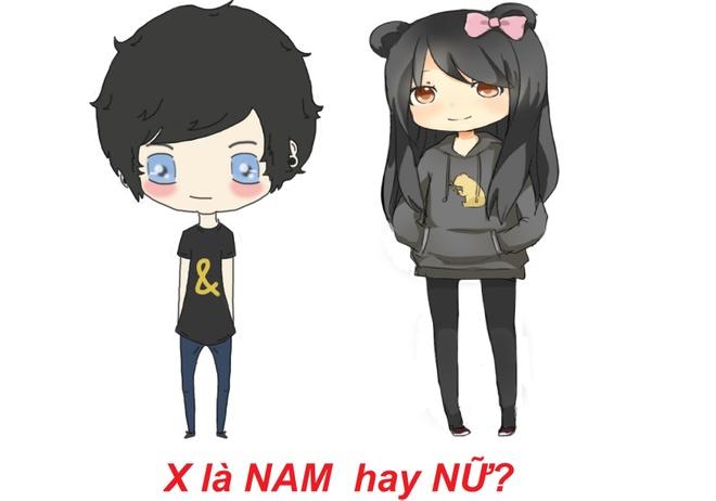 Bai toan thu vi 'X la nam hay nu' lam kho dan mang hinh anh