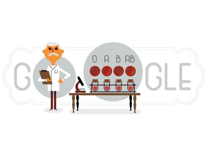 Karl Landsteiner - Nhan vat tren trang chu Google la ai? hinh anh