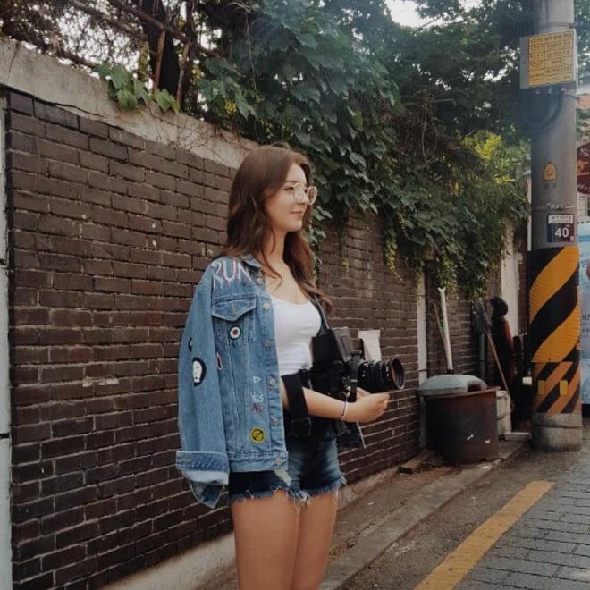 Hot girl Nga theo phong cach Han Quoc noi tieng mang hinh anh 6