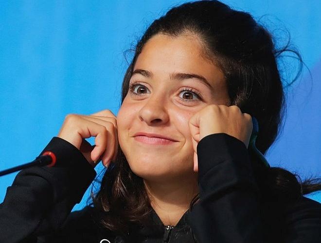 Tu co gai chay tron khoi Syria den van dong vien tai Olympic hinh anh