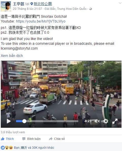Hang nghin nguoi Dai Loan chen lan giam dap vi Pokemon Go hinh anh 1