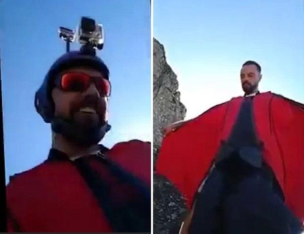 Chang trai mat mang vi mao hiem nhay tu dinh nui cao 3.000 m hinh anh 1
