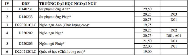 DH Da Nang cong bo diem trung tuyen bo sung dot 1 hinh anh 5