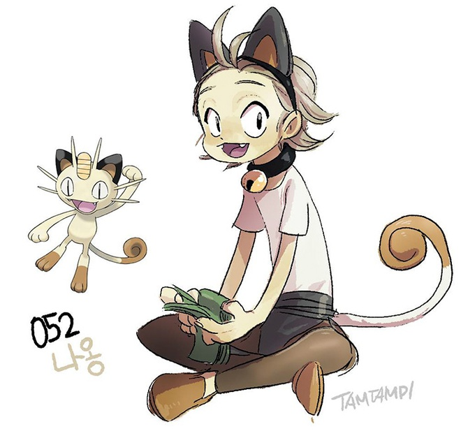 Co gai noi tieng nho bien cac loai Pokemon thanh nguoi hinh anh 5