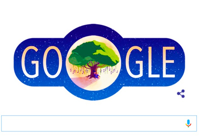 Su tich chu Cuoi len Doodle cua Google dip Trung thu hinh anh