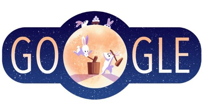 Su tich chu Cuoi len Doodle cua Google dip Trung thu hinh anh 2