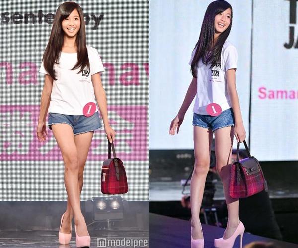 Nhan sac co gai 12 tuoi len ngoi Miss Teen Nhat Ban hinh anh 2