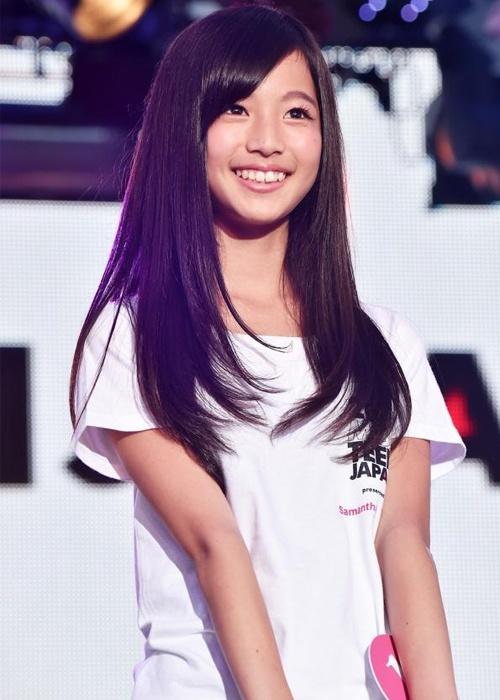 Nhan sac co gai 12 tuoi len ngoi Miss Teen Nhat Ban hinh anh 6