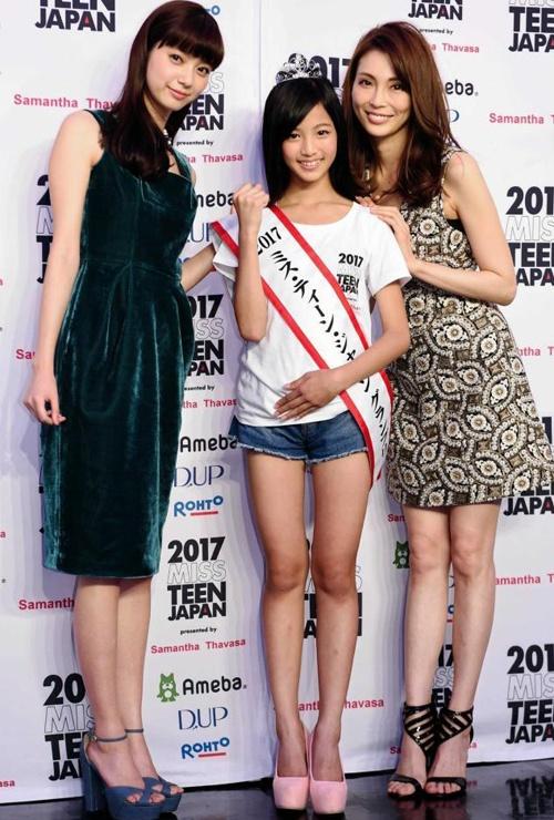 Nhan sac co gai 12 tuoi len ngoi Miss Teen Nhat Ban hinh anh 8