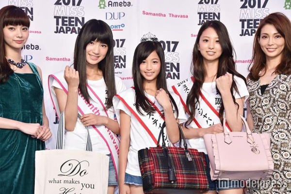 Nhan sac co gai 12 tuoi len ngoi Miss Teen Nhat Ban hinh anh 7