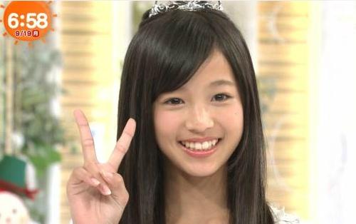 Nhan sac co gai 12 tuoi len ngoi Miss Teen Nhat Ban hinh anh 4