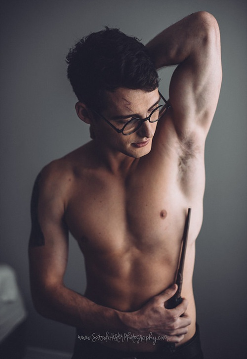 Chang trai duoc menh danh Harry Potter phien ban doi thuc hinh anh 5