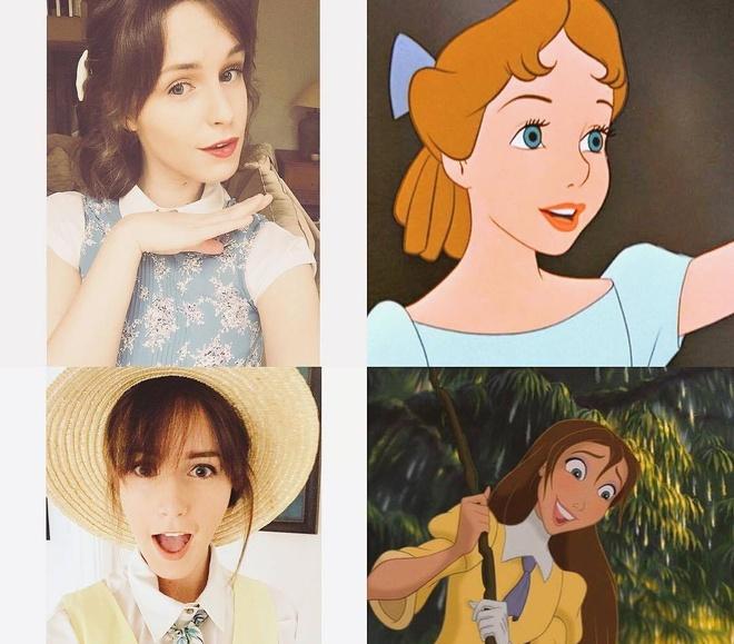 Co gai noi tieng vi giong dien vien Emma Watson hinh anh 8