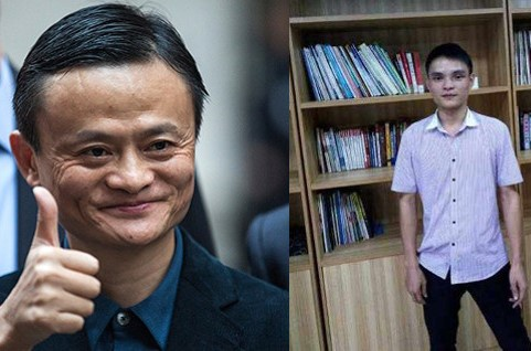 Chang trai sang Han Quoc phau thuat tham my giong Jack Ma hinh anh