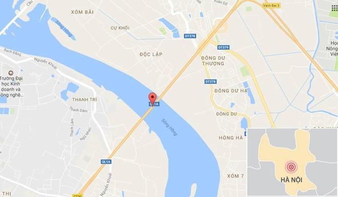 Tai nan lien hoan 7 xe tren cau Thanh Tri anh 2