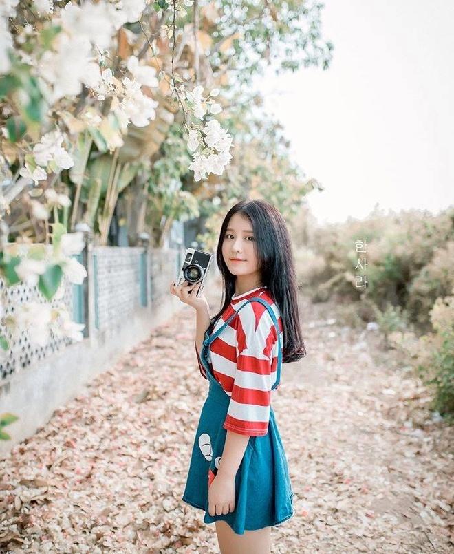 Nhan sac co gai Han Quoc noi bat tai Giong hat Viet 2017 hinh anh 9