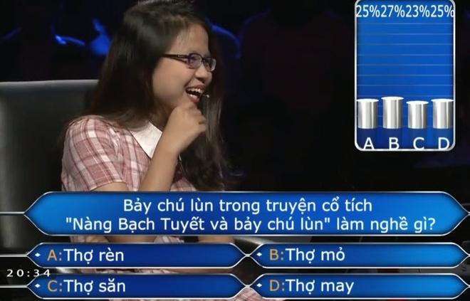 Nguoi choi 'Ai la trieu phu' khong biet nghe cua 7 chu lun hinh anh