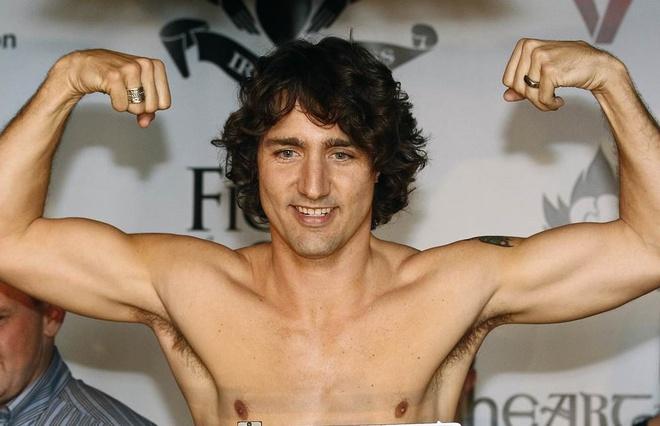 Thoi trai tre cua thu tuong Canada hinh anh
