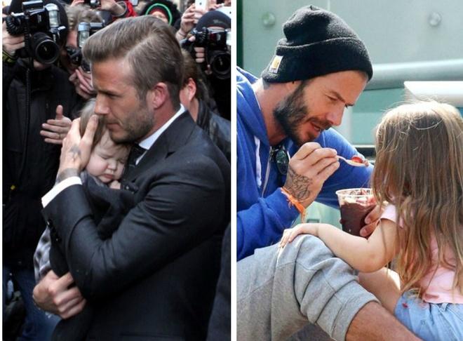 con gai Beckham anh 6