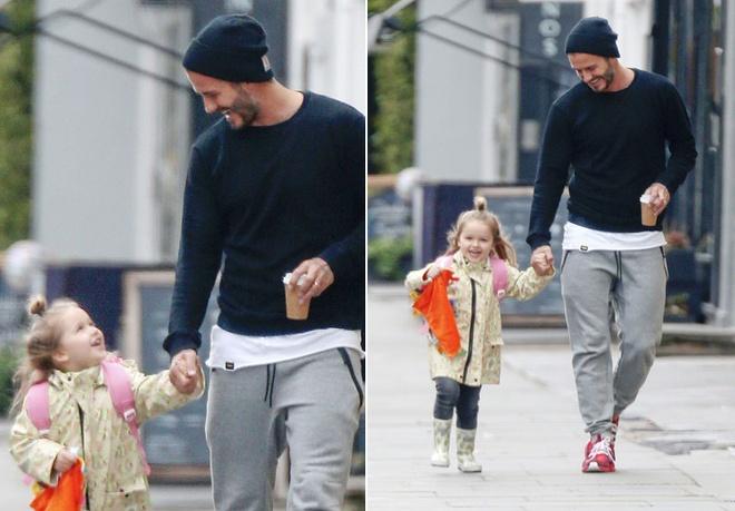 con gai Beckham anh 2