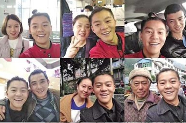 Chang trai chup selfie voi 3.000 nguoi la de som noi tieng hinh anh