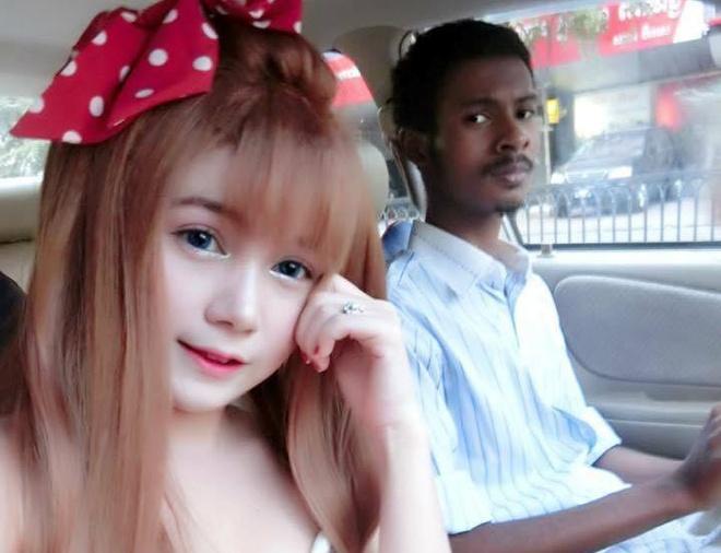 cap doi dua lech Campuchia anh 7