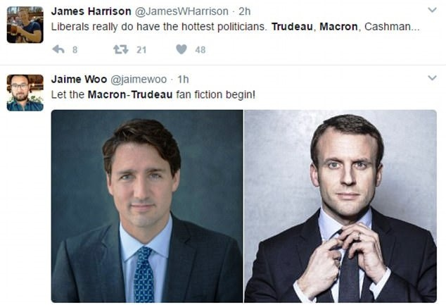 Tan tong thong Phap va thu tuong Canada: Ai dien trai hon? hinh anh 1