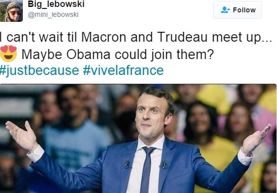 Tan tong thong Phap va thu tuong Canada: Ai dien trai hon? hinh anh 2